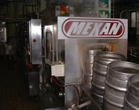 Keg washer